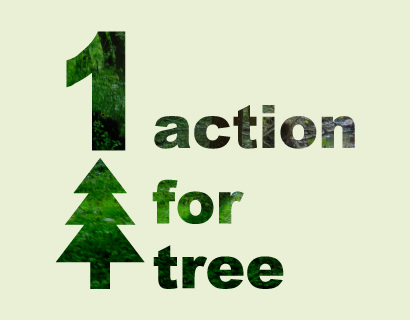 1 action for tree